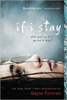 book cover if I stay