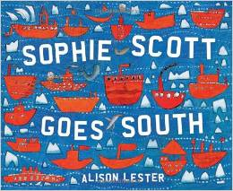 book cover: sophie scott goes south