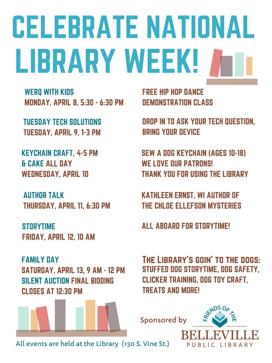 Celebrate National Library Week!