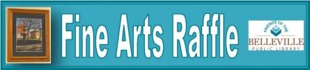 Friends of the Belleville Public Library Fine Arts Raffle