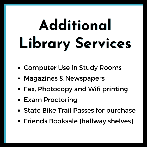 Additional Library Services