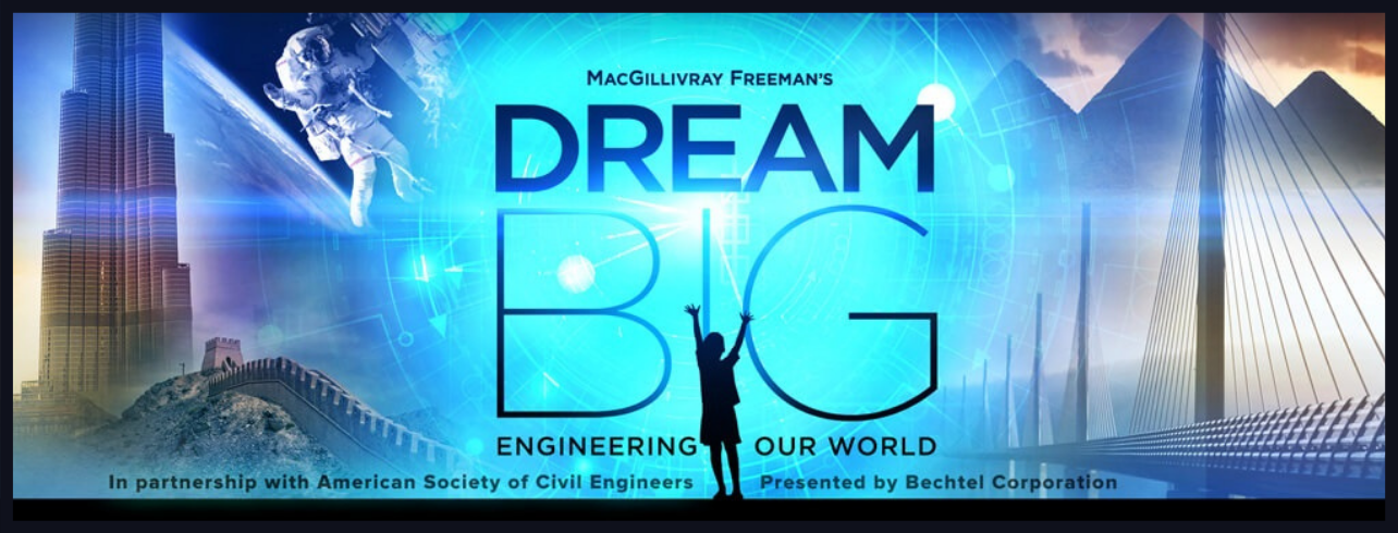 Dream Big Create Documentary and more