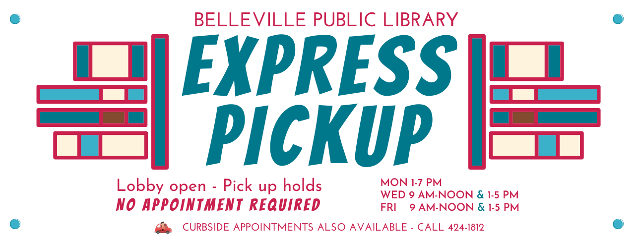 Express Pickup @ Belleville Public Library