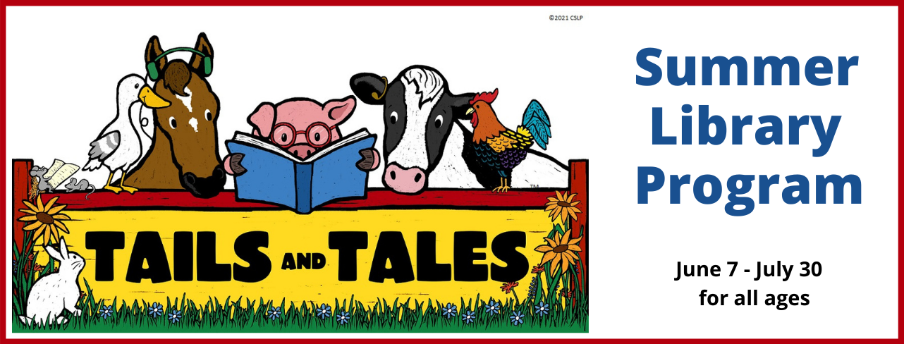 Tails and Tales Summer Library Program 2021