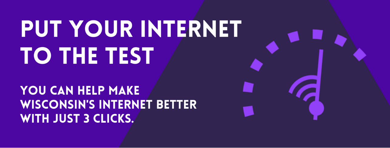 Take the Home Internet Speed Test