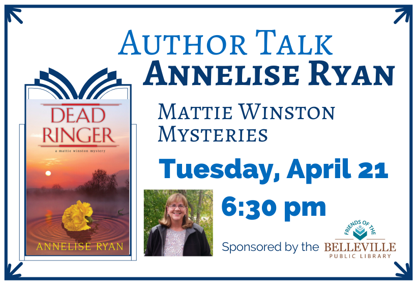 Postponed - Author Talk with Annelise Ryan