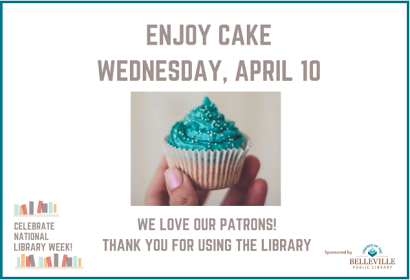 Enjoy Cake!  Thank you for using our library!
