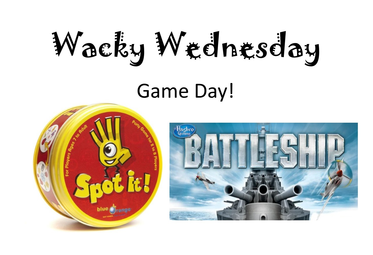 Wacky Wednesday  Game Day!