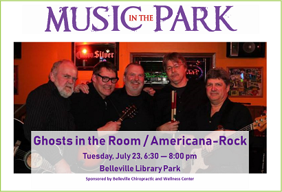 Ghosts in the Room MITP July 23, 2019 at 6:30 pm, Library Park