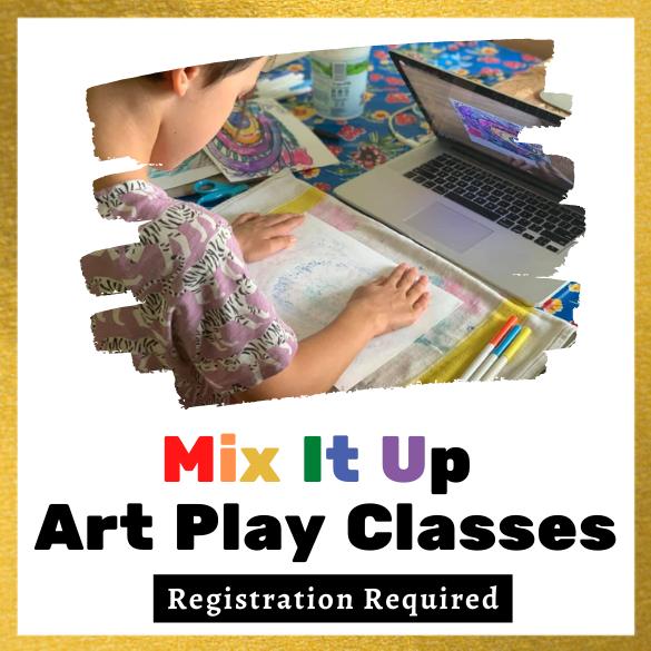 Mix It Up Art Play