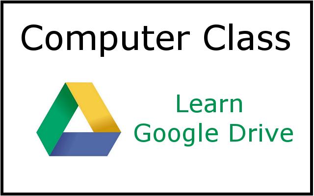 Google drive belleville public library computer class learn google drive ccuart Images