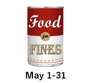 Food for Fines May 1-31