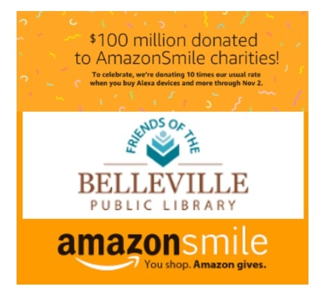 Support the Friends as you shop. To participate, click our AmazonSmile button and sign in.