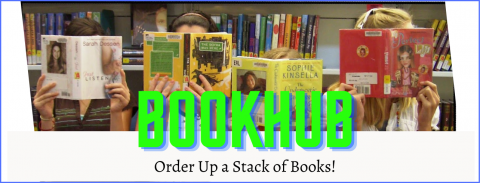 BookHub Teens - Order up a stack of books!