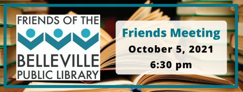 Friends Meeting Tuesday, October 5, 2021 at 6:30 pm