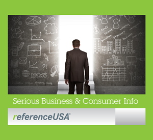 Reference USA - Subscription Service.  Use your Library Card to access.