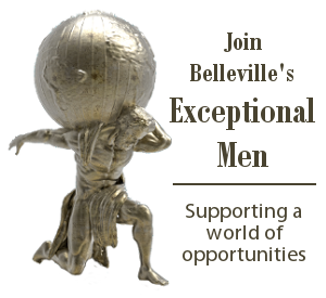 Join Belleville's Exceptional Men - Supporting a world of opportunities