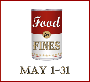 Food for Fines May 1 - 31, 2019