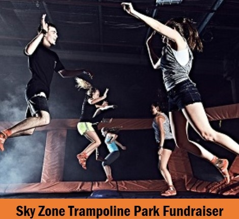 Sky Zone Trampoline Park 60 Minute Ticket Library Fundraiser