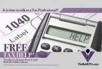 Is it time to talk to a tax professional? Free tax help!