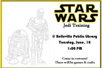 Star Wars Jedi Training, June 18, 2019, 1:00 pm