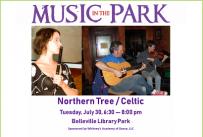 Northern Tree MITP July 30, 2019 at 6:30 pm, Library Park