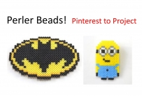 Perler Beads!  Pinterest to Project