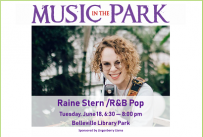 Raine Stern MITP June 18, 2019 at 6:30 pm, Library Park