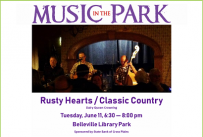 Rusty Hearts MITP June 11, 2019 at 6:30 pm, Library Park