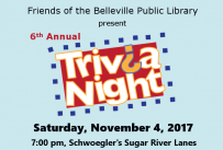 Friends of the Belleville Public Library 6th Annual Trivia Night