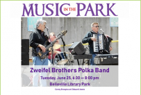 Zweifel Brothers MITP June 25, 2019 at 6:30 pm, Library Park