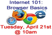 selections of browser icons