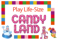 Play Life-Size Candyland at Belleville Public Library