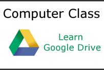 Computer Class Learn Google Drive