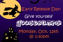 early release day give yourself goosebumps monday october 12th at 1:30pm