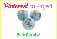 Pinterest to Project: Bath bombs