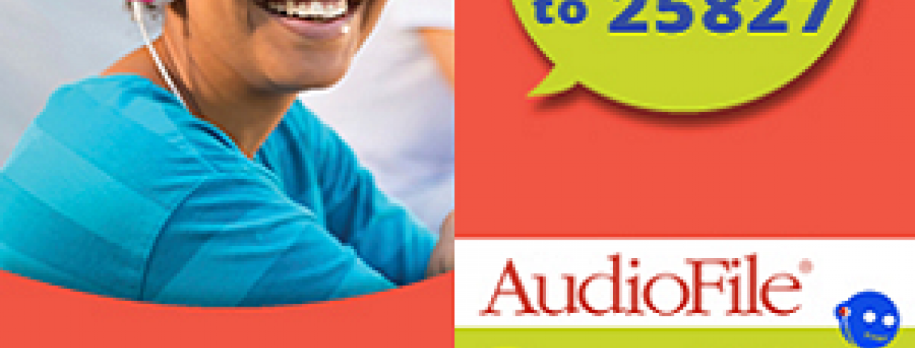 Teen Audio Books - Two Free Downloads Each Week. Text syncya to 25827